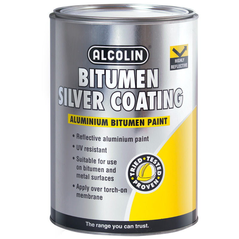 Silver Coating Waterproofing Diy Products Alcolin