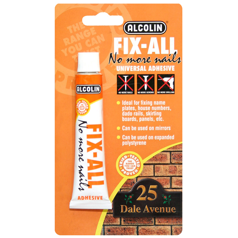 Fix-All | Grab Adhesives | DIY Products | Alcolin