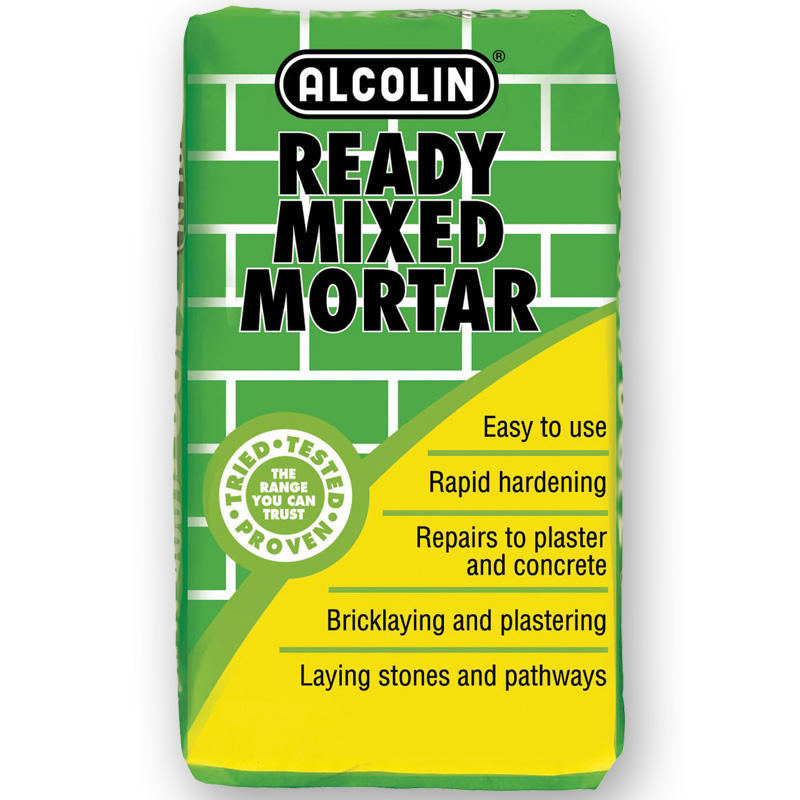 Ready Mixed Mortar | Wall & Floor | DIY Products | Alcolin