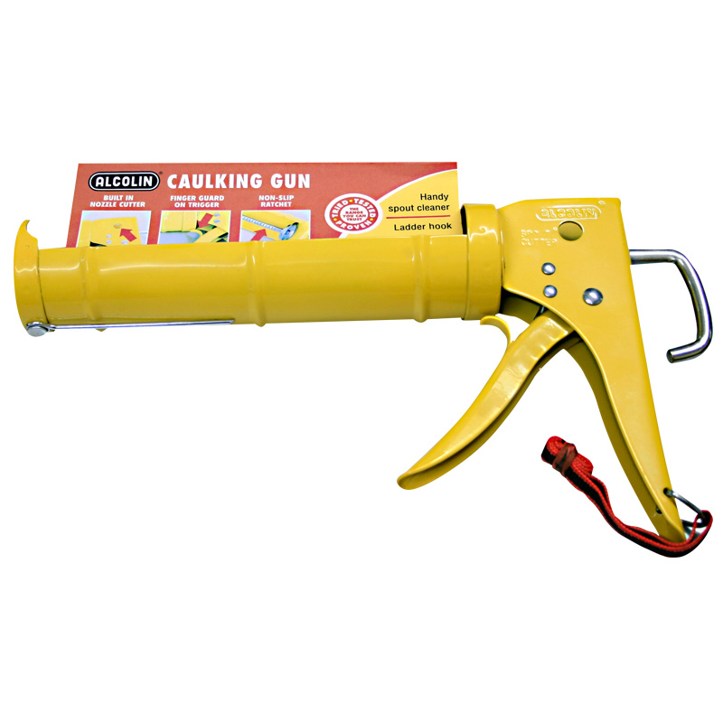 Yellow Caulking Gun